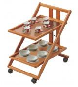 Прикроватные и сервировочные столики на колесиках
