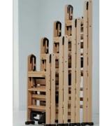 Стремянки деревянные с широкими ступенями