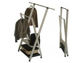 Вешалка напольная на колесиках ParsiFal, раздвижная штанга