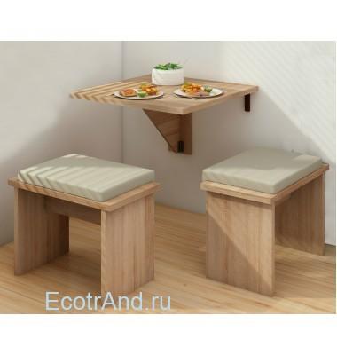 Столик для балкона Mesa Plegable арт.67151-381
