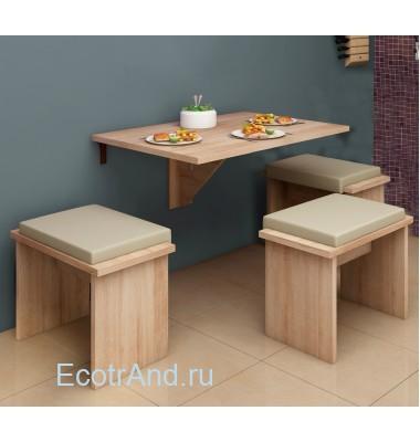 Столик для балкона Mesa Plegable арт.67161-381