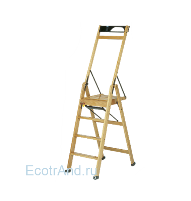 Стремянка деревянная LaScala 4