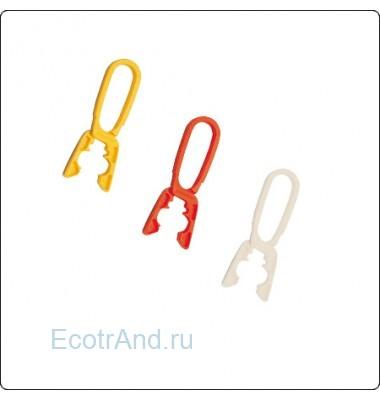 Пластиковые прищепки для белья Clothy, комплект-12шт