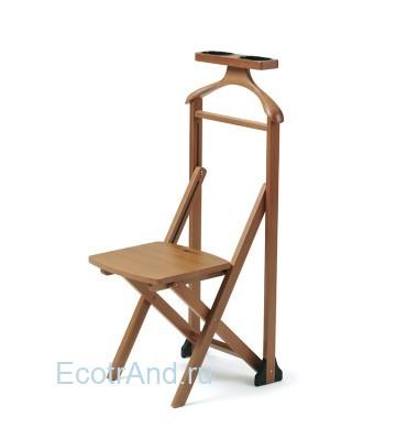 Вешалка-стул деревянный для одежды Duka