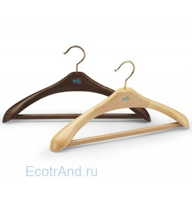 Вешалка-плечики деревянные art.222