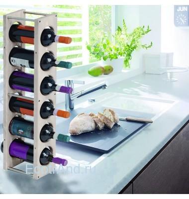 Декоративная стойка для вина Cantinetta