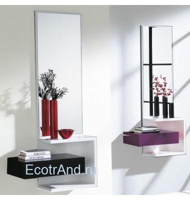 Настенное зеркало с полкой Espejos-696